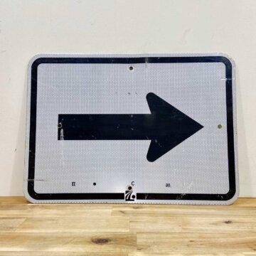 Vintage_Road sign【4150】