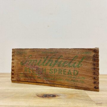 Vintage Cheese Box【4234】