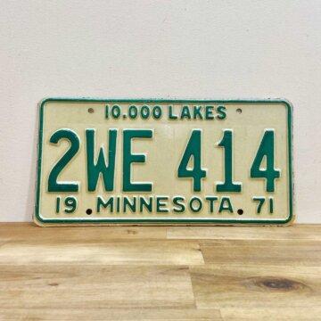 License plate【3384】