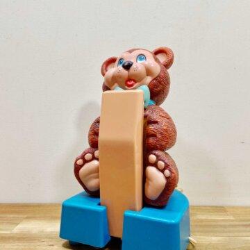 Vintage Bear Telephone【5383】