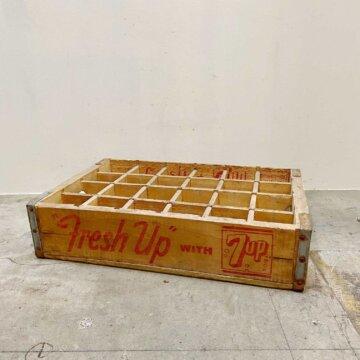 Vintage Crate 7UP【5264】
